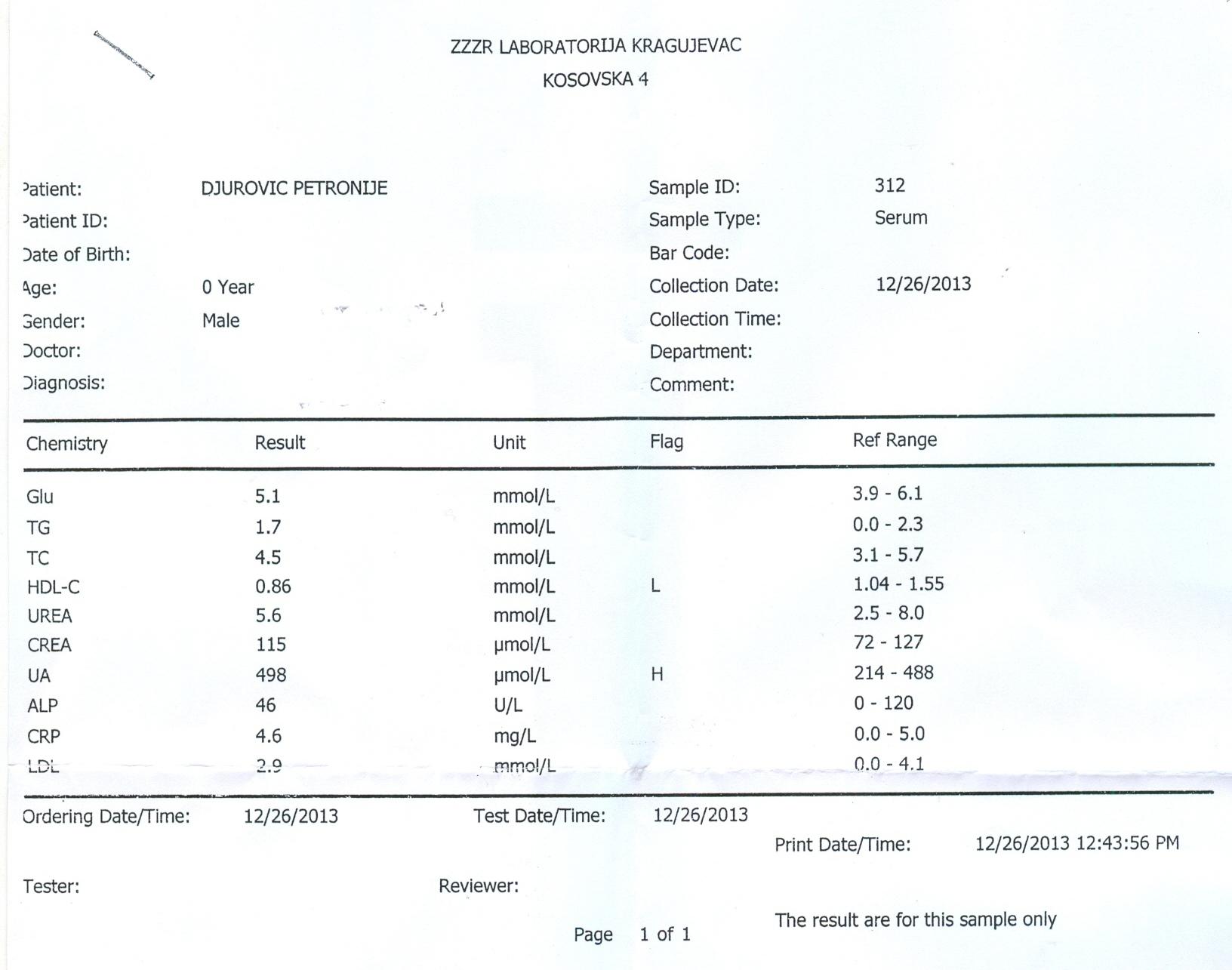 Petronije Djurovic, rezultati posle